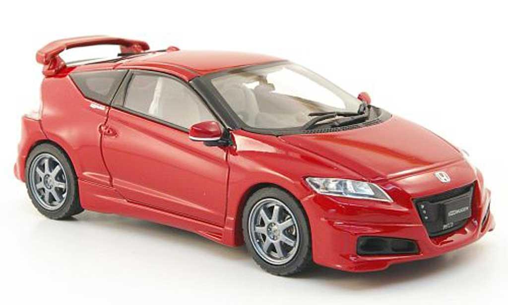 Honda CR-Z 1/43 Ebbro Mugen rouge miniature