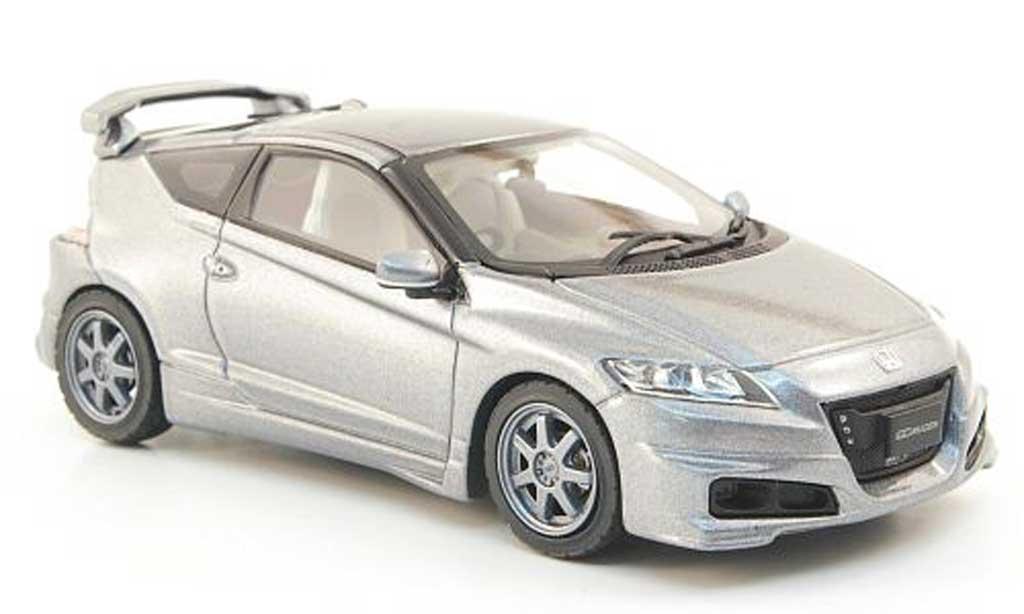 Honda CR-Z 1/43 Ebbro Mugen grise miniature