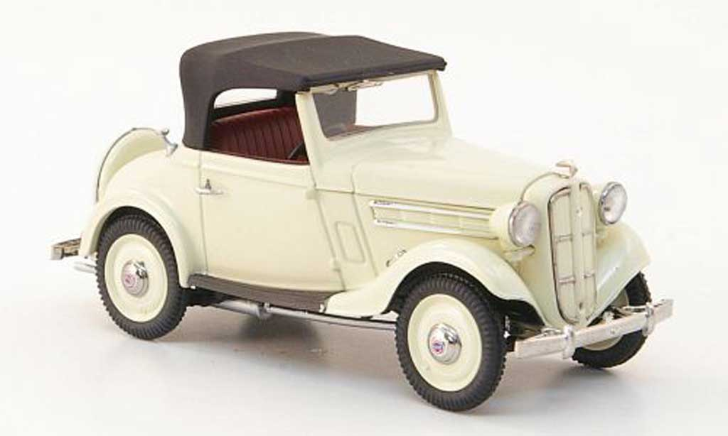 Datsun 17 1/43 Ebbro Roadster elfenbein 1938 miniature