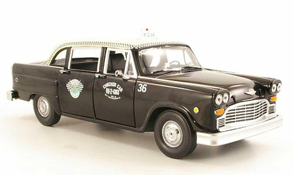 Checker Taxi 1/18 Sun Star A11 Dallas (US) 1963 miniature