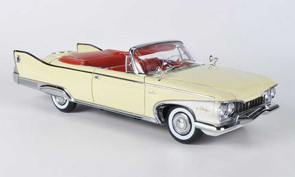 Plymouth Fury 1/18 Sun Star Convertible jaune 1960 miniature