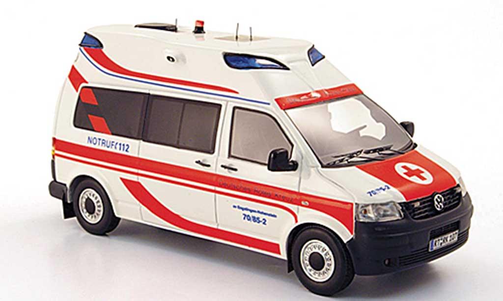 Volkswagen T5 1/43 Neo Hornis Silver KTW Deutsches rougees Kreuz limited edition 2009 miniature