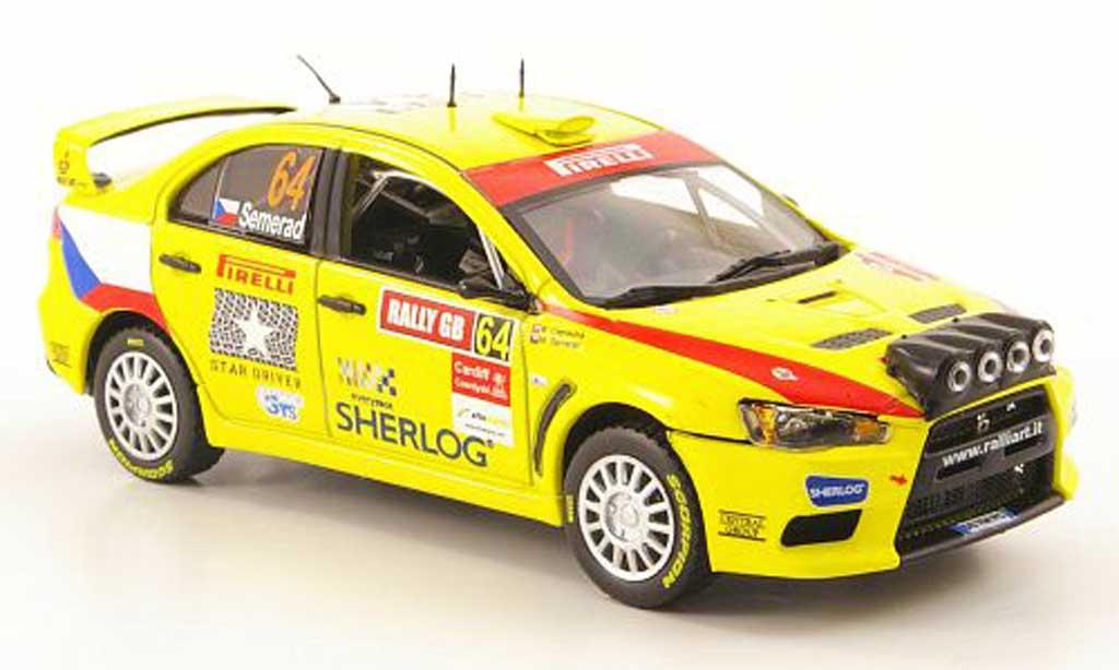Mitsubishi Lancer Evolution X 1/43 Vitesse No.64 Rally Grossbritannien 2009 miniature