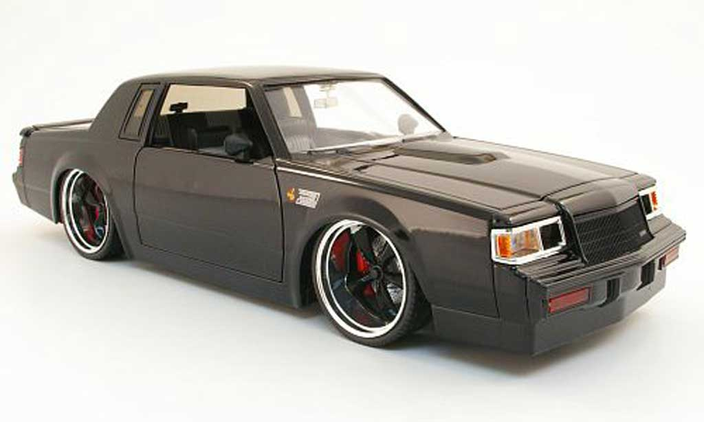 Buick T-Type 1/18 Jada Toys grand national noire 1987