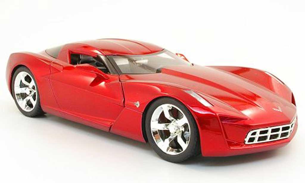 Chevrolet Corvette C6 1/18 Jada Toys Toys C6 concept red diecast model cars