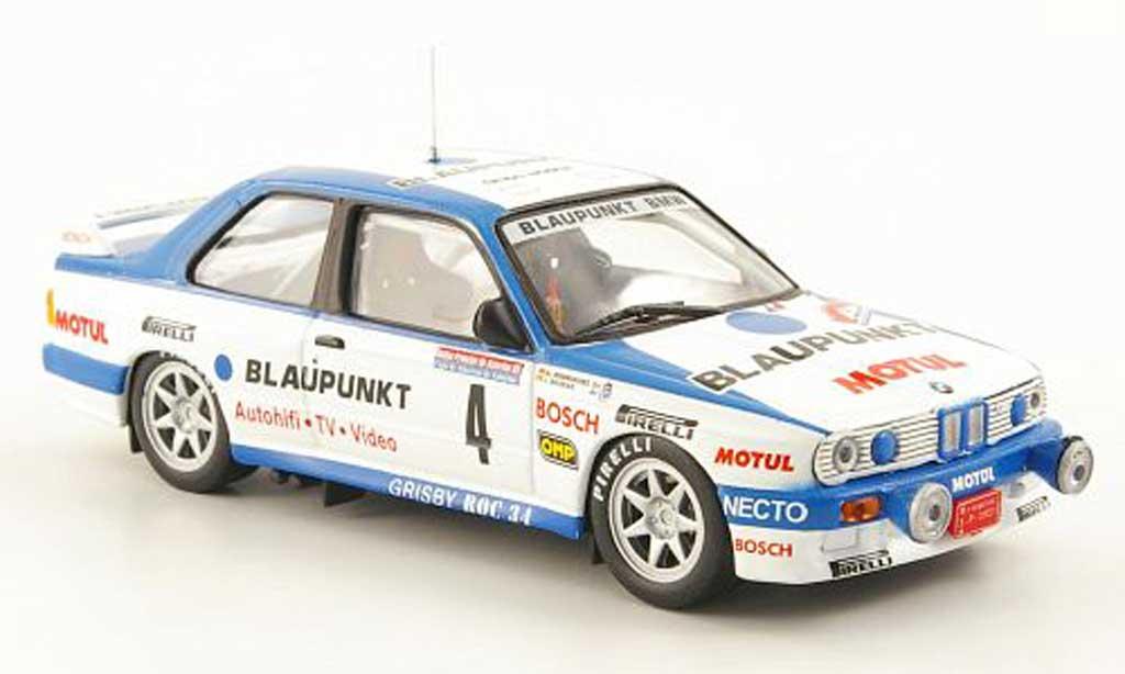 Bmw M3 E30 1/43 Hachette No.4 bleupunkt Rally Principe de Asturias 1989 diecast model cars