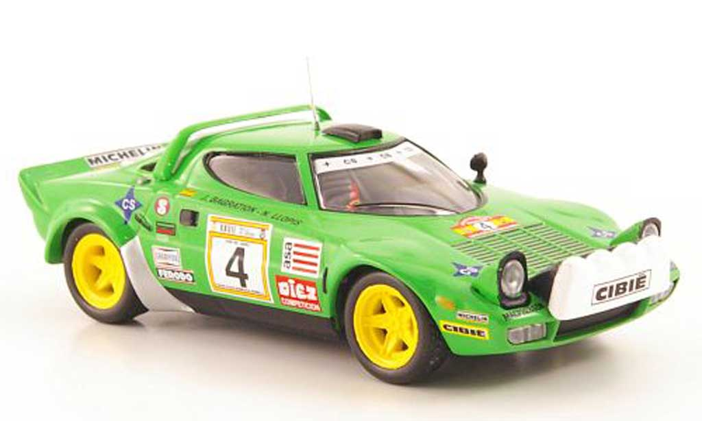 Lancia Stratos HF 1/43 Hachette No.4 Rally RACE 1979 diecast model cars