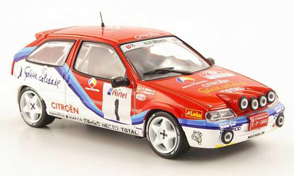 Citroen ZX Rallye 1996 1/43 Hachette 16V No.1 Rally San Froilan miniature