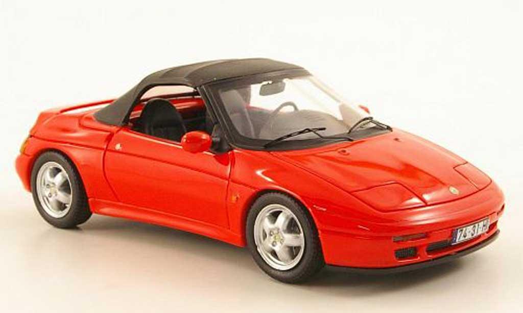 Lotus Elan 1/43 Premium X S2 (M100) rouge geschlossenes Verdeck 1994 miniature