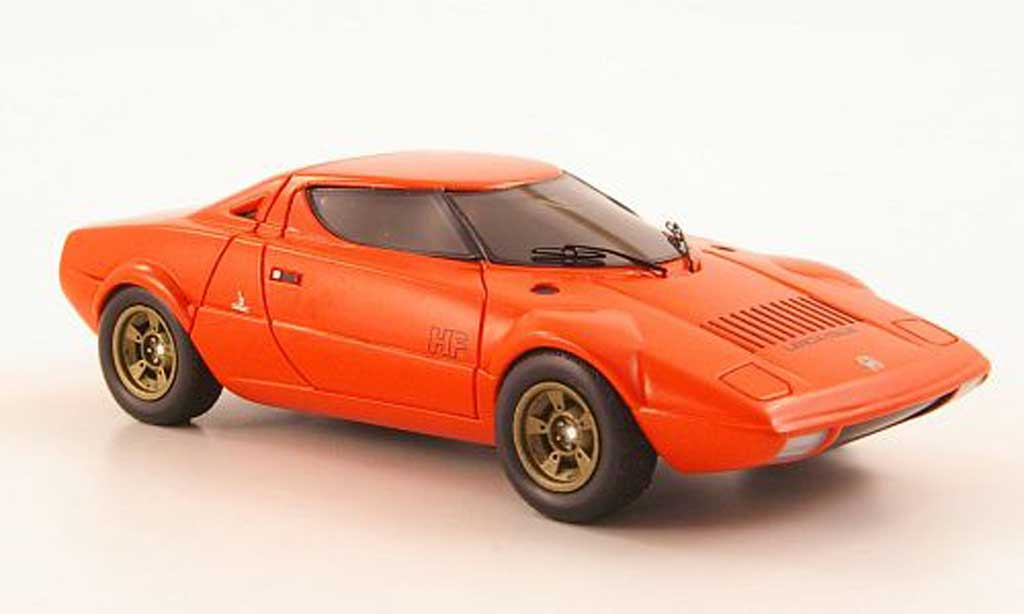 Lancia Stratos HF 1/43 Premium X rouge orange Autosalon Turin 1971 miniature