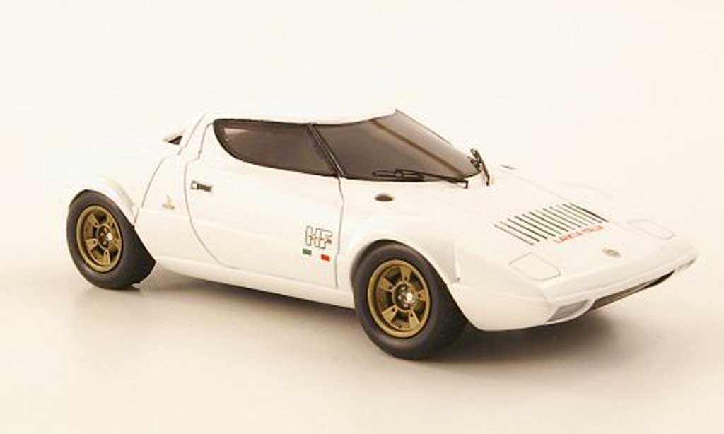 Lancia Stratos HF 1/43 Premium X blanche 1971 miniature