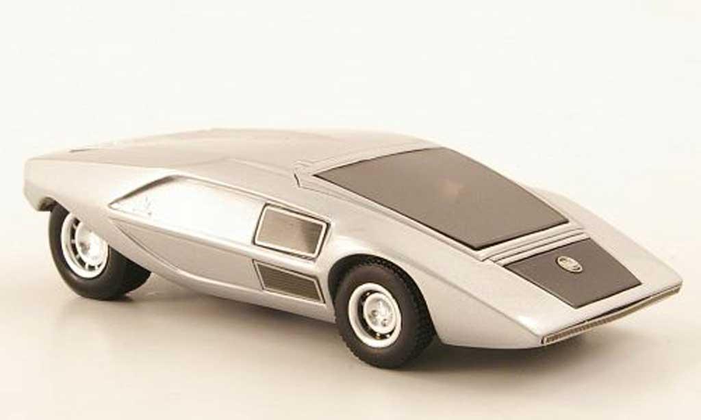 Lancia Stratos Prototype 1/43 Premium X grise 1971 miniature