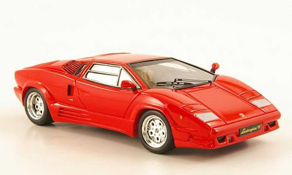 Lamborghini Countach 25th Anniversary 1/43 Premium X rouge 1989 miniature
