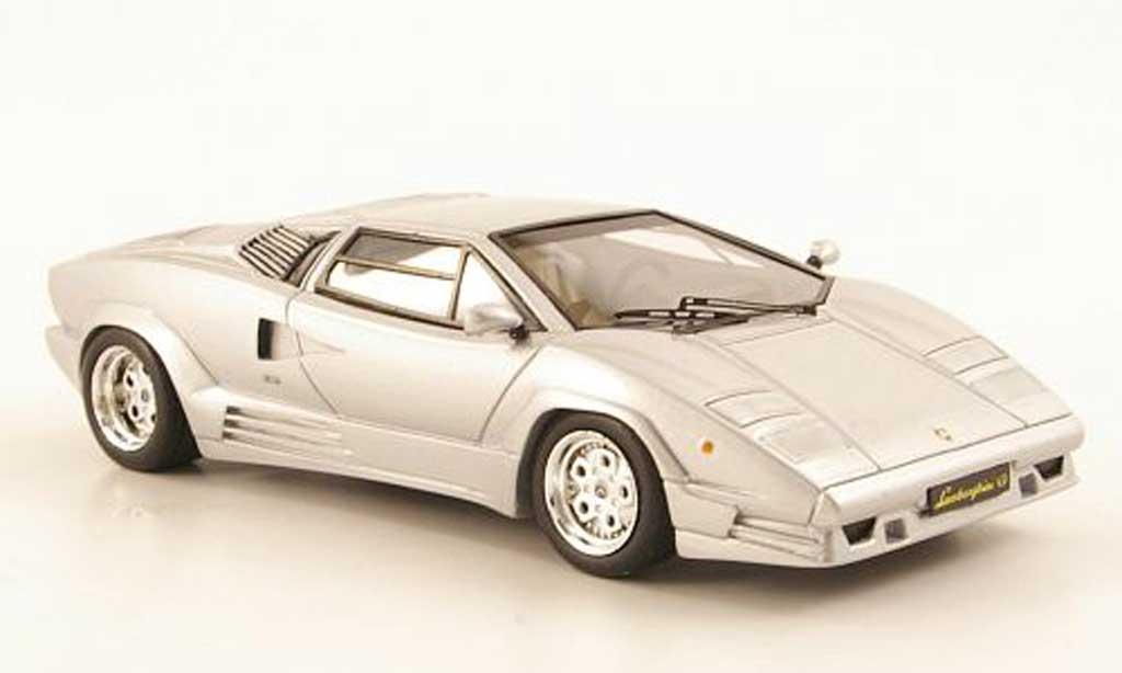 Lamborghini Countach 25th Anniversary 1/43 Premium X gray  1989