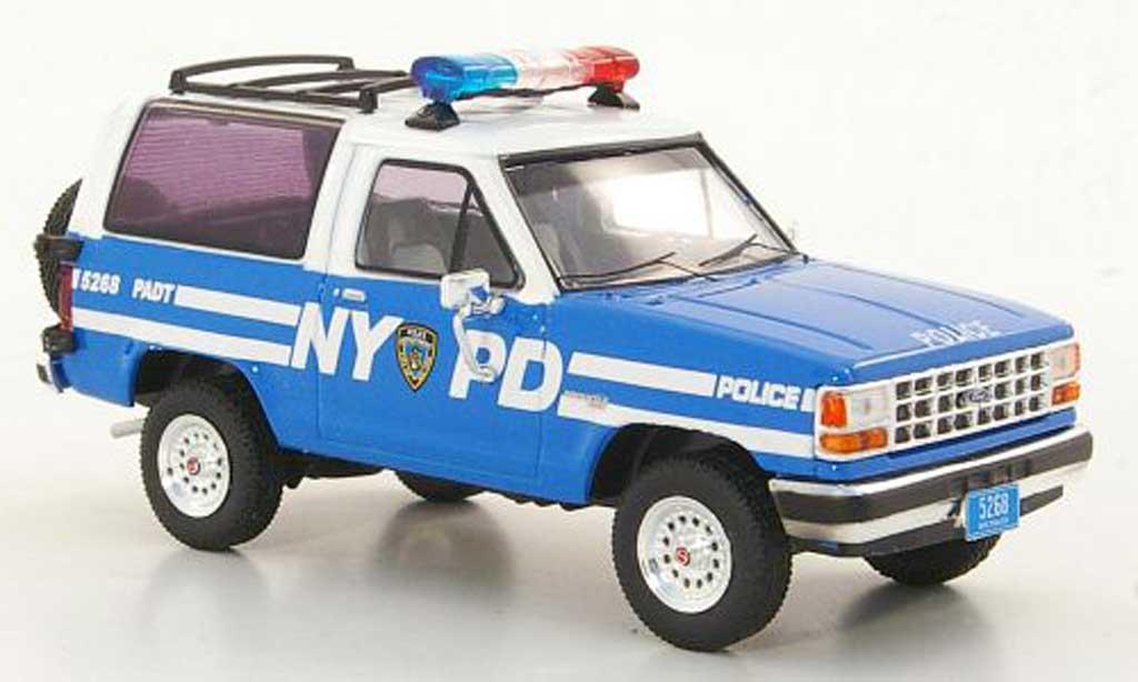 Ford Bronco 1/43 Premium X II NYPD Polizei 1990 modellautos