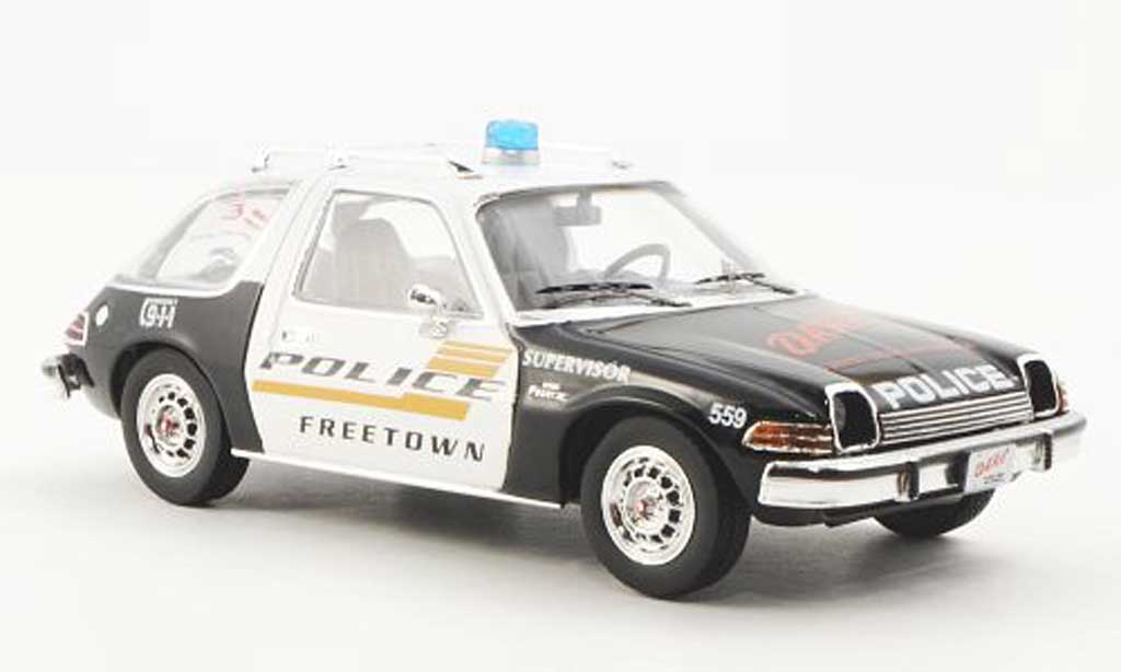 AMC Pacer 1/43 Premium X X Polizei - Police USA 1975 miniature