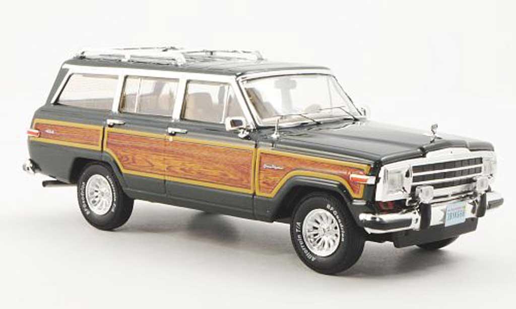 Jeep Wagoneer 1/43 Premium X grun 1989 miniature