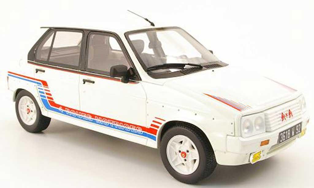 Citroen Visa 1/18 Ottomobile 1000 pistes blanche miniature