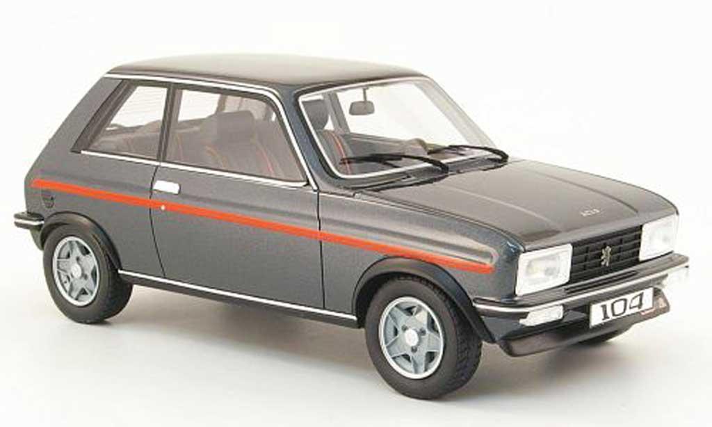 Peugeot 104 1/18 Ottomobile zs2 grise