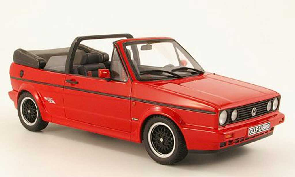 Volkswagen Golf 1 cabriolet 1/18 Ottomobile sportline red diecast model cars