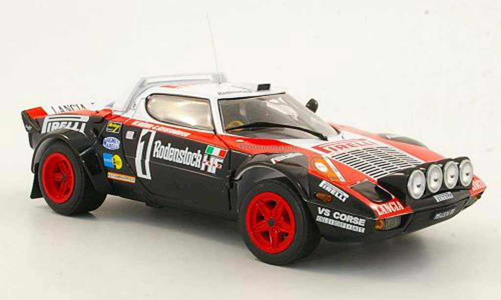 Lancia Stratos HF 1/18 Sun Star No.1 Pirelli W.Rohrl / C.Geistdorfer Hunsruck Rally 1978 diecast model cars