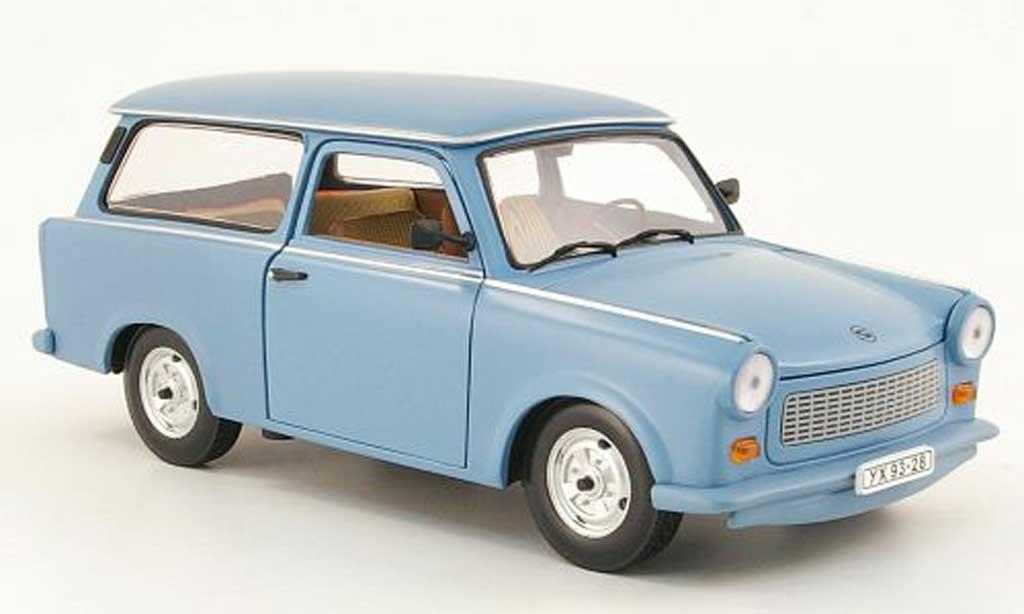 Trabant 601 kombi 1/18 Sun Star universal bleu clair miniature