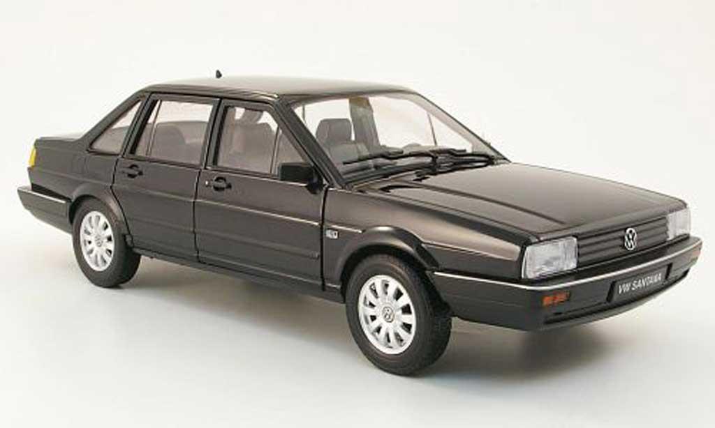 Volkswagen Santana 1/18 Welly black 1986 diecast model cars