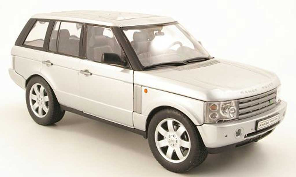 Range Rover Sport 1/18 Welly grise metallisee miniature