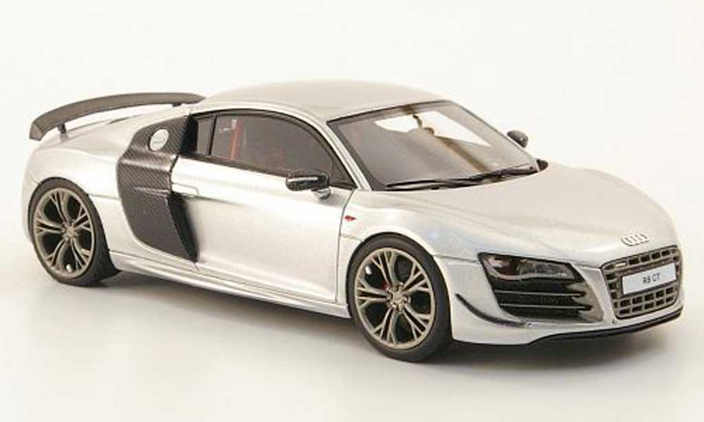 Audi R8 GT 1/43 Look Smart grey diecast model cars