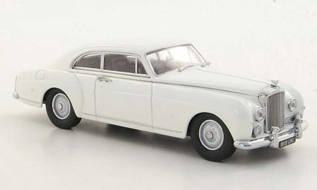 Bentley Continental S1 1/43 Oxford blanche miniature
