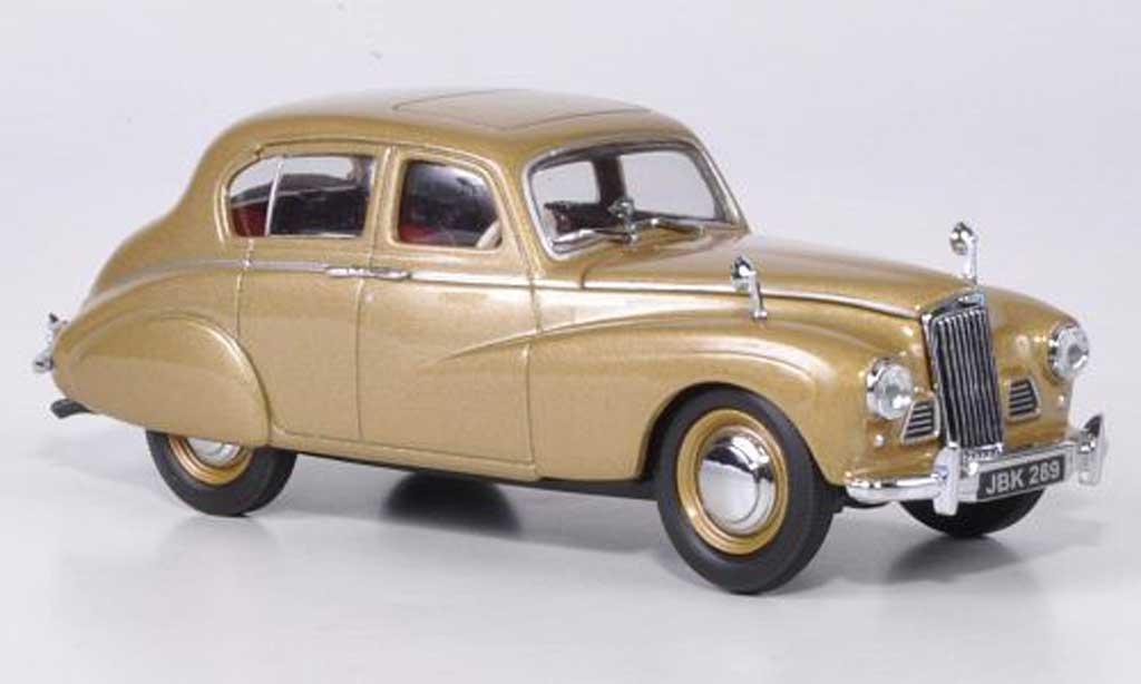 Sunbeam 90 1/43 Oxford Talbot MKII gold miniature