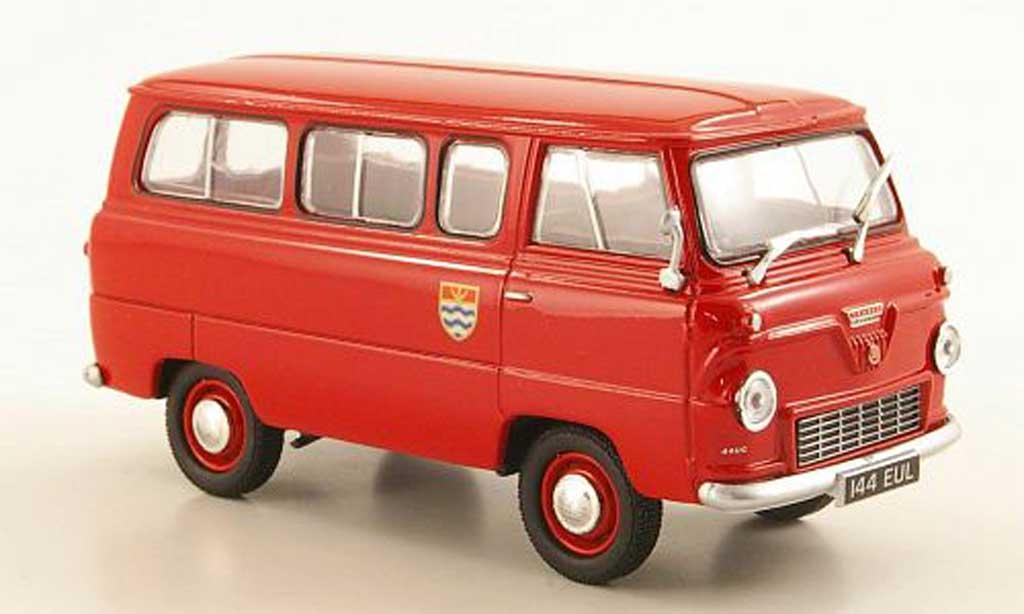 Ford 400E 1/43 Oxford Thames Bus London Fire Brigade RHD miniature