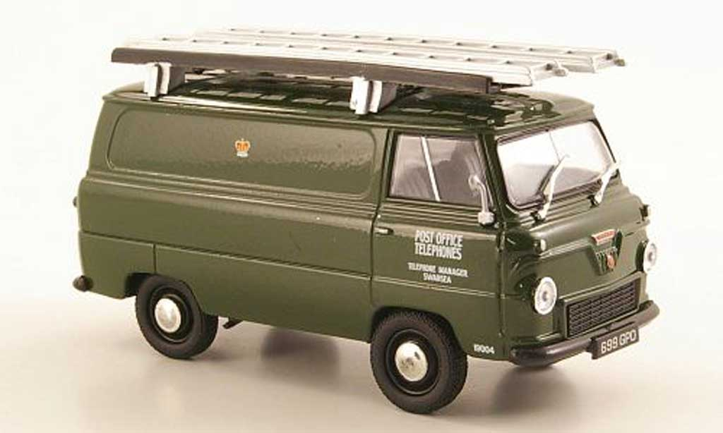 Ford 400E 1/43 Oxford Thames Van Post Office Telephones RHD miniature