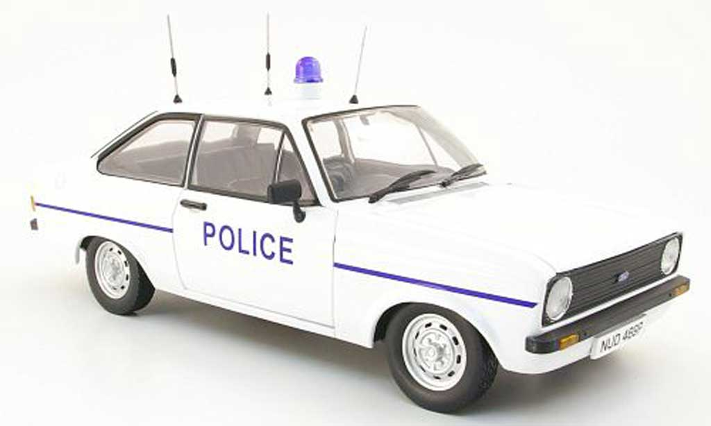Ford Escort MK2 1/18 Model Icons MK2 1100 l thames valley police 1975 miniature