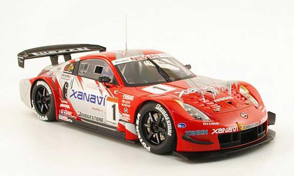 Nissan 350Z 1/18 Autoart JGTC xanavi nismo z no.1 s.motoyama 2004 diecast model cars