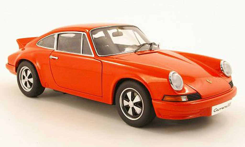 Porsche 911 RS 1/18 Autoart Carrera 27 rouge 1973 miniature
