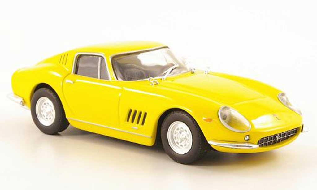 Ferrari 275 1/43 Hachette jaune GTB/4 miniature