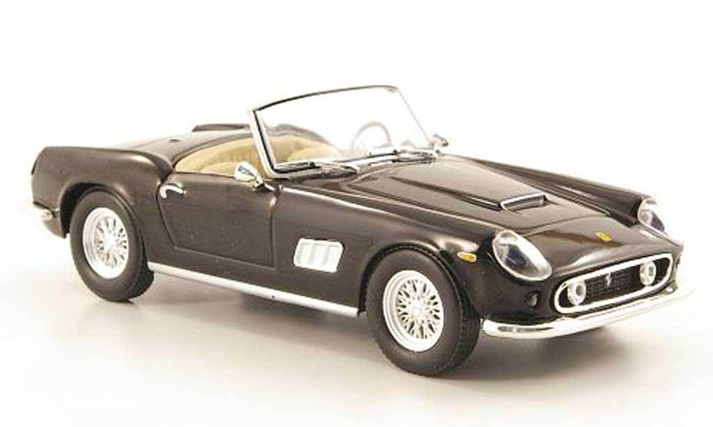Ferrari 250 GT California 1/43 Hachette noire miniature