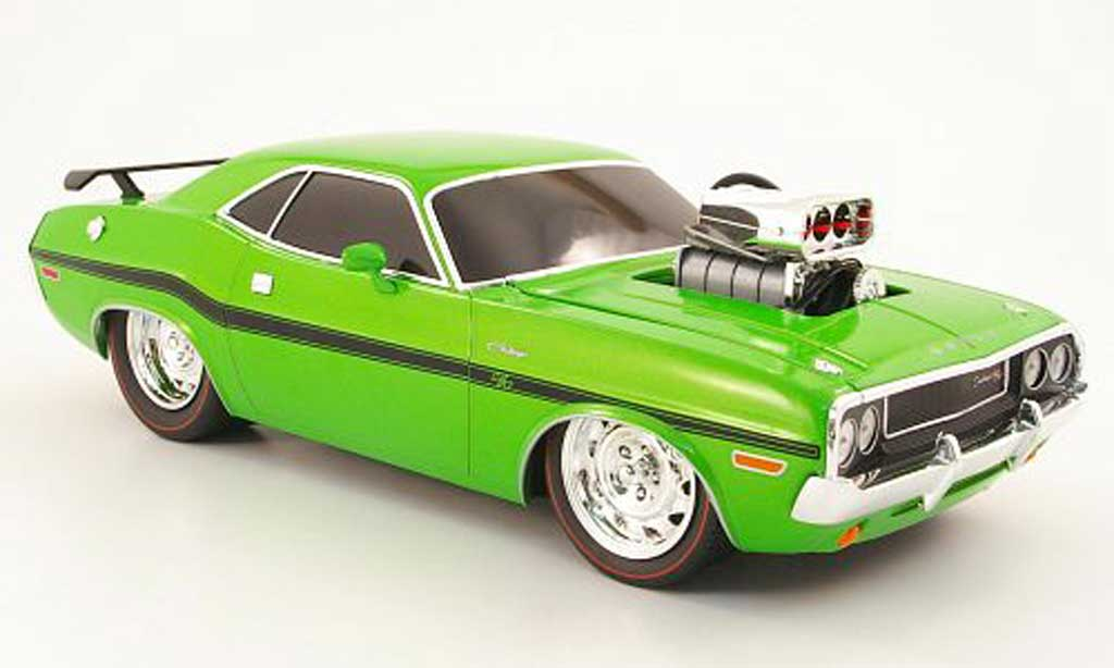 Dodge Challenger 1970 1/18 M2 Machines r/t vert diecast model cars