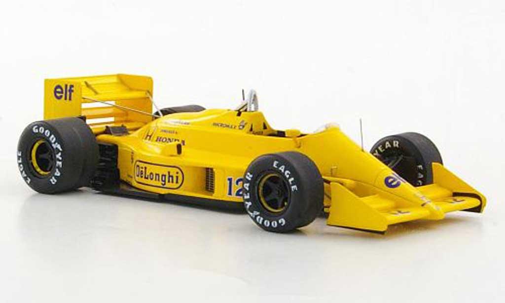 Lotus F1 1987 1/43 Reve Collection 99T No.12 Camel A.Senna GP Japan modellautos