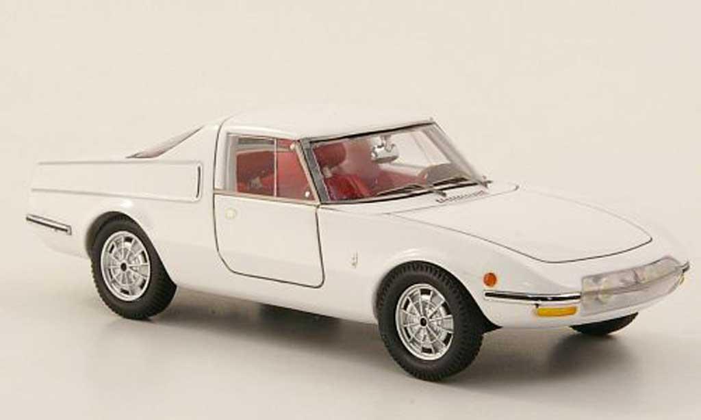 Abarth 1300 OT 1/43 Spark Coupe Pininfarina blanche miniature