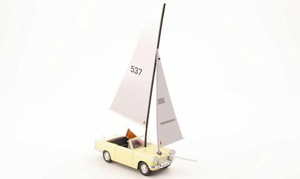 Triumph Herald 1/43 Oxford Herald Cabriolet Segelschiffumbau Top Gear miniature