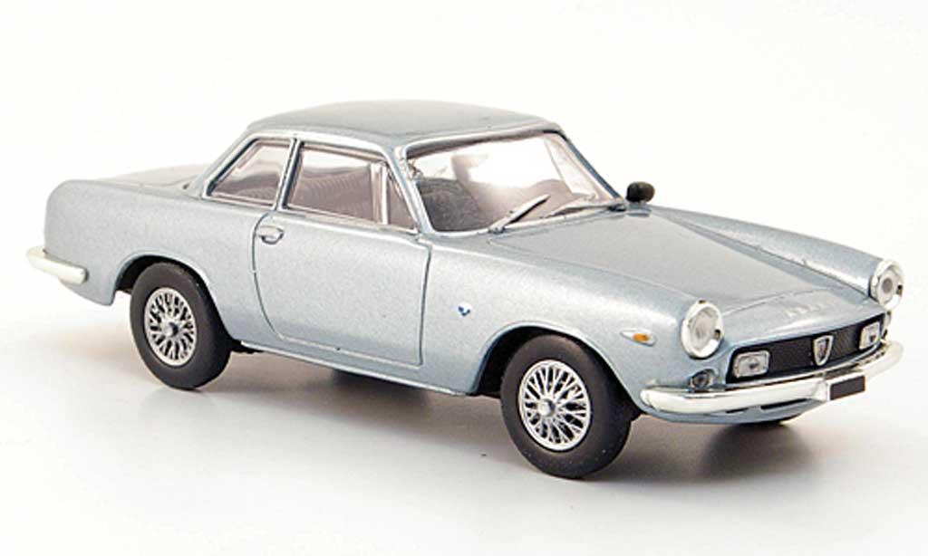 Abarth 2400 1961 1/43 Hachette Coupe bleu miniature