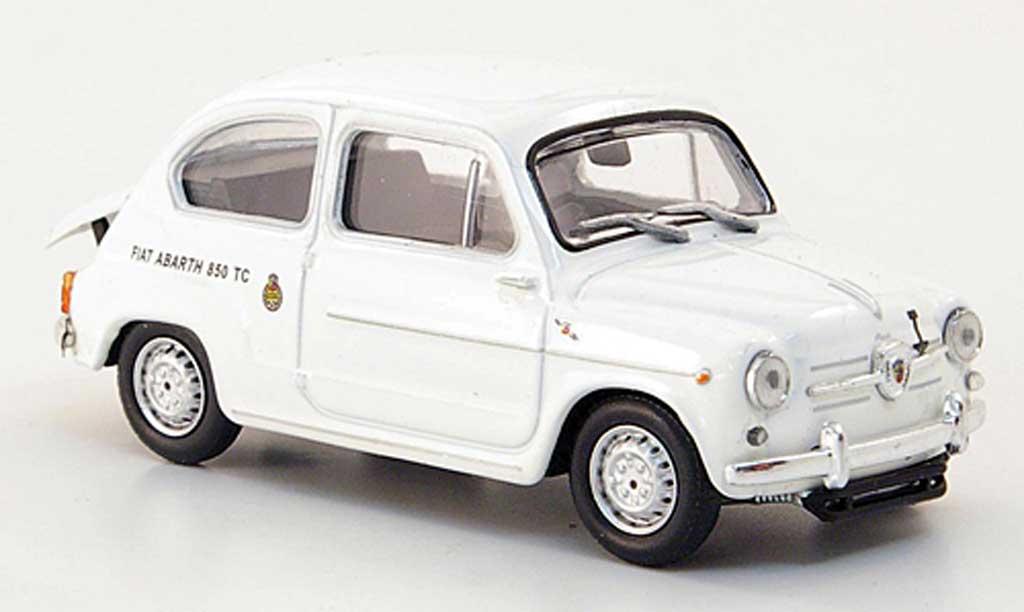 Abarth 850 TC 1/43 Hachette Corsa blanche 1963 miniature