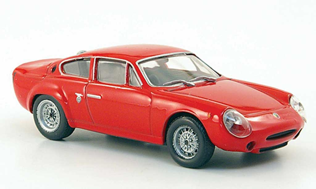 Abarth 1300 Simca GT 1/43 Hachette rouge 1963 miniature