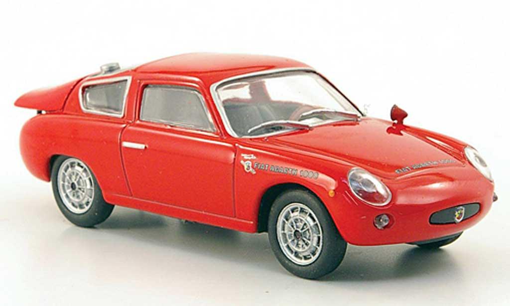Abarth 1000 Bialbero 1/43 Hachette rouge 1962 miniature