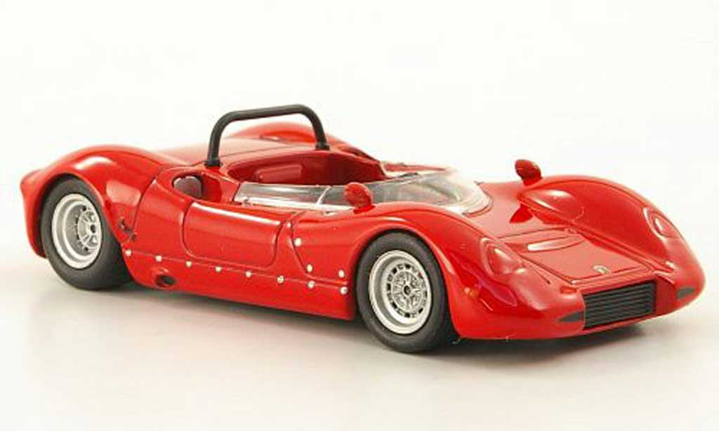Abarth 2000 Sport Spider 1/43 Hachette MC (SE04/L) rouge 1967 miniature