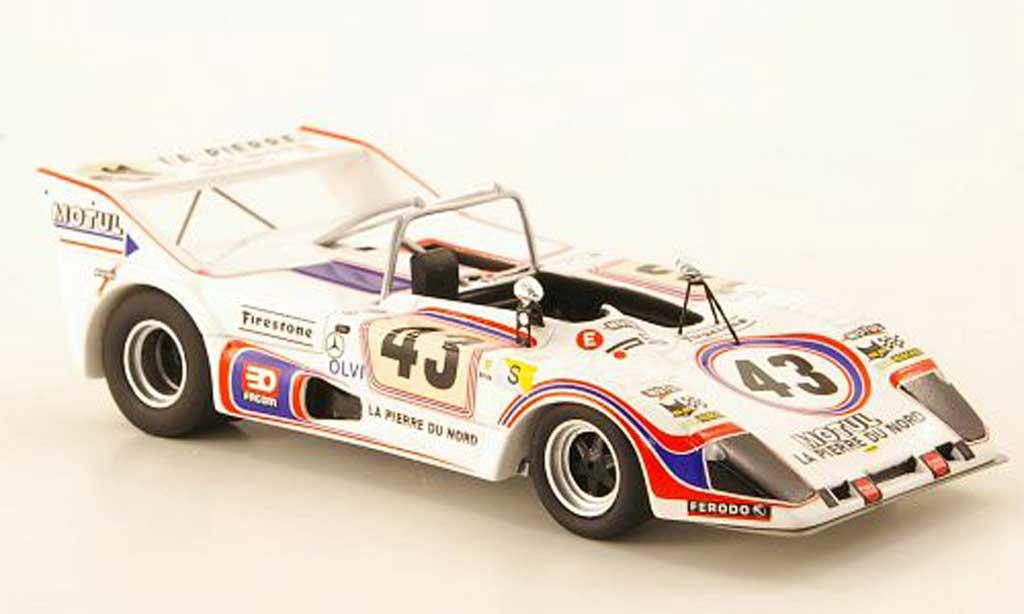 Lola T292 1/43 Bizarre Simca-Chrysler-ROC No.43 24h Le Mans 1974 miniature