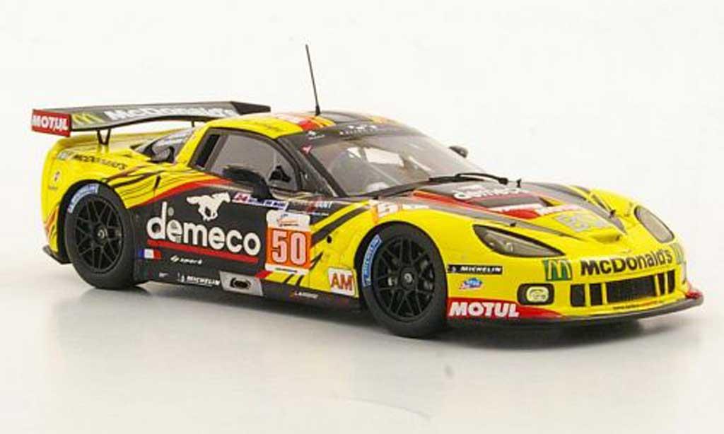 Chevrolet Corvette C6 1/43 Spark ZR1 No.50 Larbre Competition P.Bornhauser / J.Canal / G.Gardel 24h Le Mans 2011 diecast