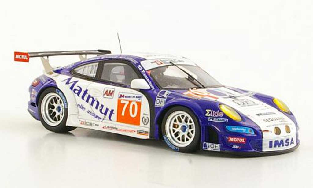Porsche 997 GT3 RSR 1/43 Spark 2001 No.70 Larbre Competion 24h Le Mans diecast model cars